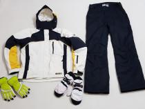 Costum Ski, ZIENER, pantaloni iarnă nr.40sau M, mănuși Kombi