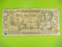 10070-I-Bancnota 100 lei RP Romania 1947-uzata. Plata avans.