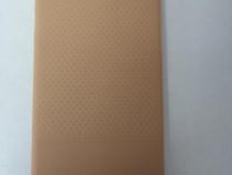 Husa Telefon Silicon Apple iPhone 6+ 6s+ Gold Leather