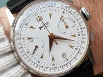 38mm HELVETIA ceas cronograf elvetian pentru doctori Valjoux