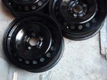 Set 4 Jante oțel 5×114.3/16 De Nissan;Daster etc.asiatice