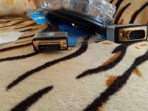 Cablu dvi to vga