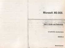 MS-DOS 5.0 -Getting started; User's guide &reference (2 vol)