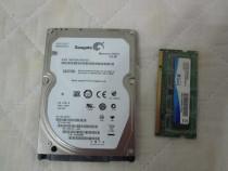 Hard Disk Laptop Seagate 160GB SATA+bonus placuta 1Gb ram