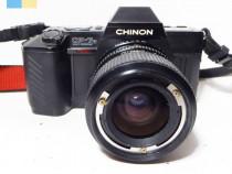 Chinon CP-7m, obj Exakta 35-70mm montura Pentax K-mount