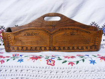 Cutie din lemn de tei pt. ceai, alimente,etc.