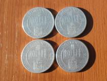 4 monede 1000 lei 2001