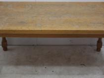 Masuta de cafea; Masuta lemn masiv; Masuta cu blat 106x55