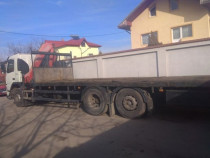 Prestări servicii, transport , camion macara
