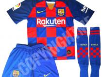 Compleu echipament fotbal copii barcelona messi model 2020