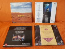 LaserDisc concerte muzica 4 bucati
