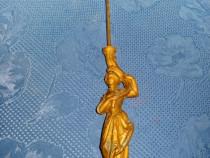 3959-Ornament pendula femeie bronz perioada 1900.