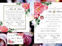 Realizare invitaţii nuntă
