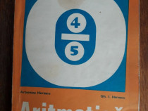 Manual de Aritmetica pentru clasa a IV-a 1975 / R2P5F