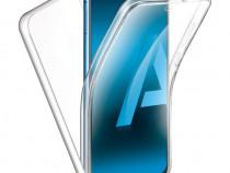 Samsung A51 A71 - Husa 360 Slim Fata Silicon Spate Plastic