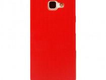 Husa Silicon Samsung Galaxy A5 2017 a520 Mesh Red PRODUS NOU
