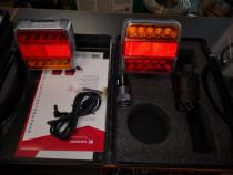Set lampi spate magnetice LED și wireless