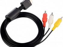 Cablu AV RCA original SONY Playstation PS2, PS3