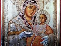 """Icoana Maicii Domnului """"Betleemita"""" pictură pe lemn"""