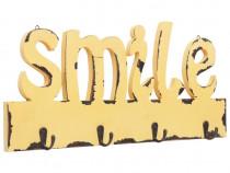 Cuier de perete SMILE, 50 x 23 cm 284241