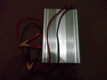 Invertor de curent 12V/220V, 600/1200w