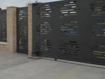 Gard tabla decupata, 3mm diverse modele, plasma, laser, traf