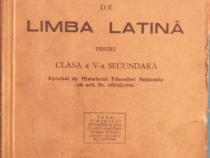 Manual de limba latină pentru clasa a V-a secundară