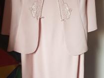 Rochie eleganta din doua piese, marimea 46
