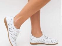 Pantofi casual piele naturală 100%,import Italia/cutie