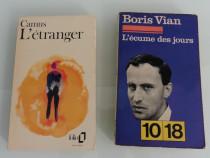 Boris vian albert camus patru volume limba franceza