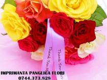 Imprimanta panglica aranjament floral