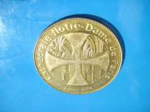 5113-Medalia Catedrala Notre Dame de Paris-Fainon 2006.