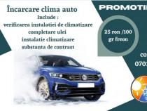 Incarcare clima auto