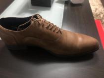 Pantofi piele Zara, marime 42