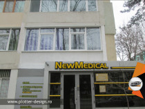 Signalistica volumetrica salon infrumusetare,cabinet medical