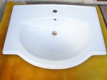 Lavoar ceramic Savini Due, 70 cm