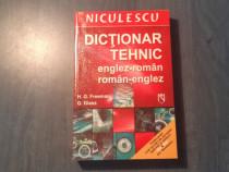 Dictionar tehnic englez - roman roman - englez H. Freeman