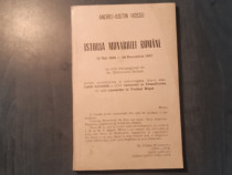 Istoria monarhiei Romaniei de Andrei Iuatin Hossu