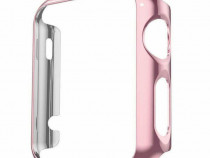 Carcasa Apple Watch 38m, husa protectie silicon, bumper ecra