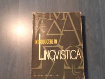 Introducere in lingvistica de Alexandru Graur