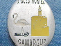 6082-Rege Saint-Louis- Placheta Cruciada 1248-Aigues mortes.