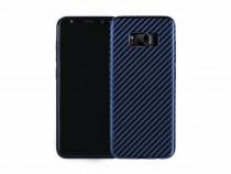 Husa Telefon Silicon Samsung Galaxy S8 g950 Dark Blue Carbon