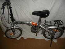 Bicicleta pliabila BORN RIDE, echipata schimano