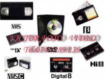 Copieri casete, materiale video si audio calitativ