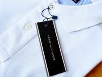 Tricouri bumbac Tommy Hilfiger new model logo brodat/Italia