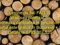 Lemne de foc vrac sau paletizat . Avem lemne de foc stejar