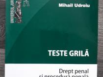 Mihail udroiu teste grila drept penal si procedura penala