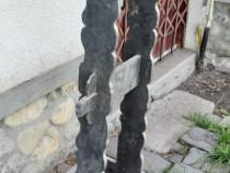 Pupitru vechi din lemn de brad