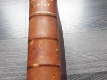 Carte veche woodrow wilson statul 1902 limba franceza