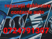 Reparații deblocare contact Vw Skoda Seat Audi la domiciliu